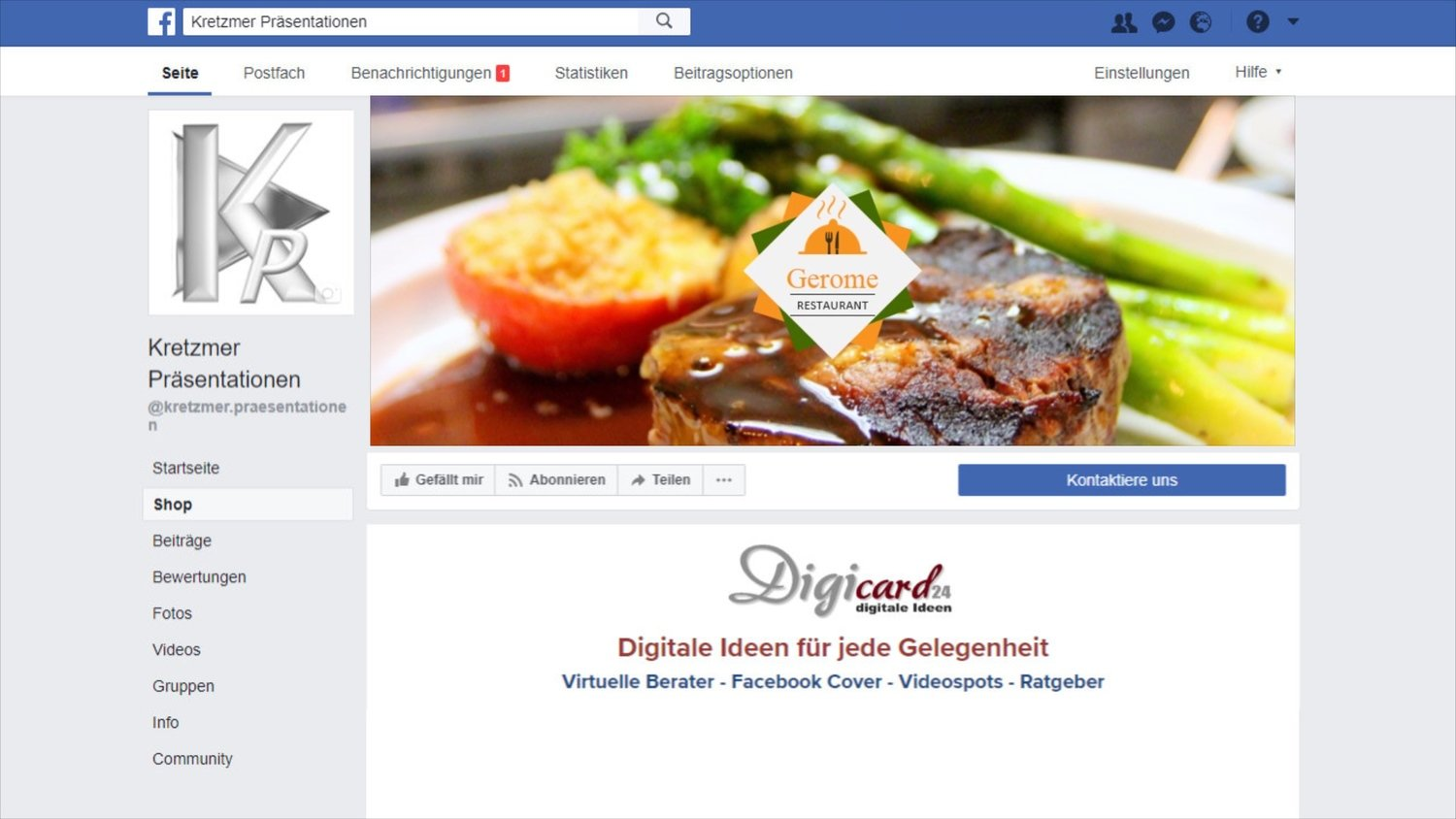 Gastronomie + Individuell