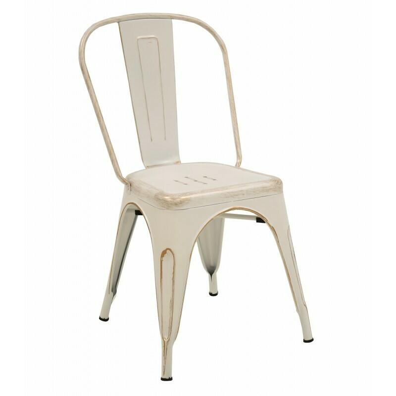 Cadira Tol Retro blanca