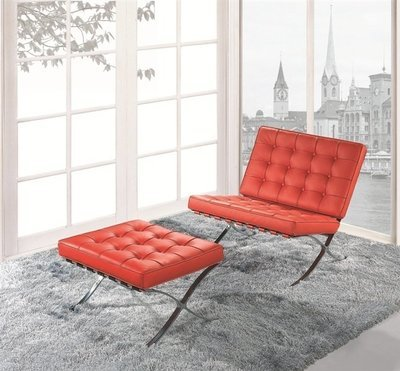Cadira Barna con Ottoman