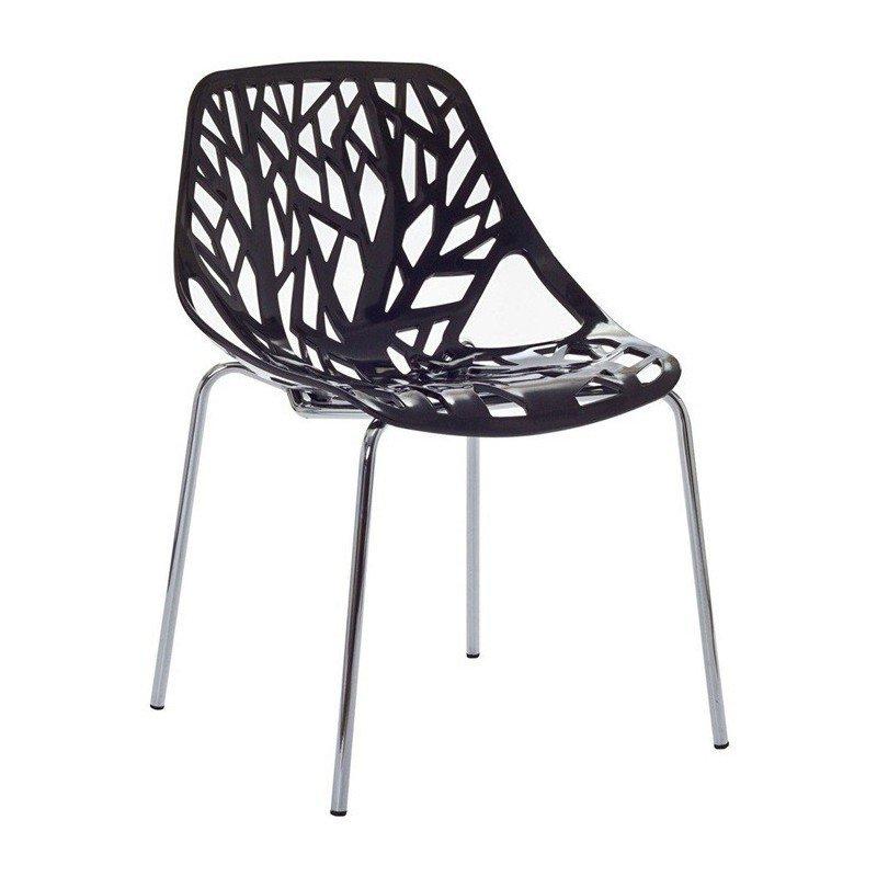 Cadira Ron Negra