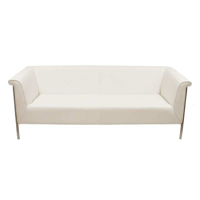 Sofa Hermes Blanc 3 places