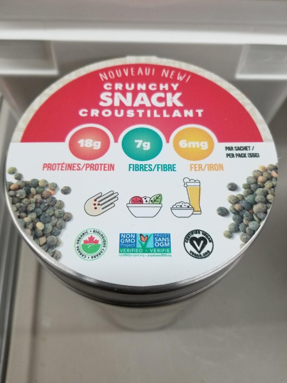 Snacky Day - Lentilles grillées bio, vegan et sans-ogm 1kg Vrac