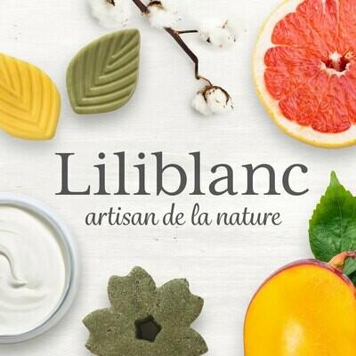 Liliblanc - Revitalisant solide en barre 24g : beurre d'avocat et monoï ou mangue et basilic