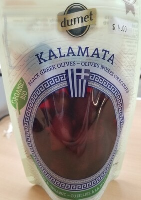 Dumet - Olives noires kalamata bio 270g