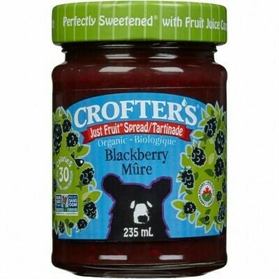 Crofters - Tartinade Mures Just fruit bio 235ml