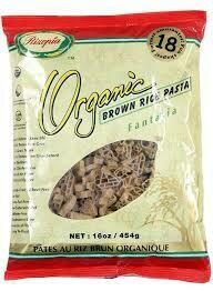 Rizopia - Pates Fantasia de riz brun biologique 454g