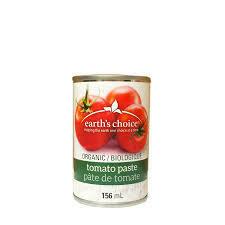Earth's choice - Pate de tomate bio 156ml