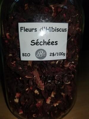 Fleur d'hibiscus biologique 1Kg Vrac