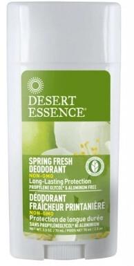 Desert Essence - Deodorant en baton Fraicheur printaniere 75ml
