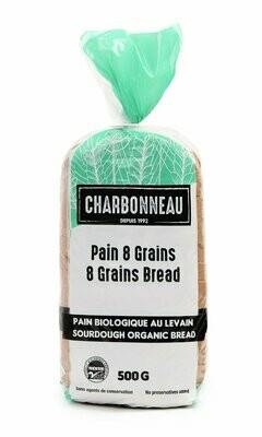 Charbonneau - Pain frais 8 grains biologique 500g