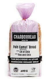 Charbonneau - Pain de KAMUT® blé khorasan avec Lin et Chia biologique 500g