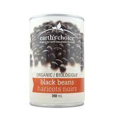 Earth's choice - Haricots noirs bio 398ml