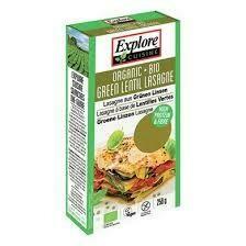 Explore Cuisine - Lasagne lentilles vertes bio 227g