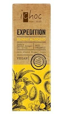 iChoc - Chocolat vegan Sunny Amande 50g biologique