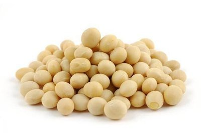 Fèves de soya crues biologiques 1KG VRAC