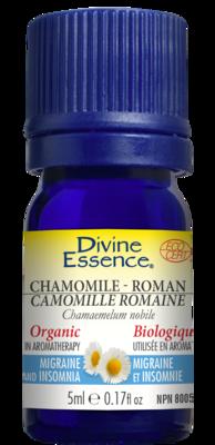 Divine Essence - Huile essentielle Camomille Romaine bio 5ml
