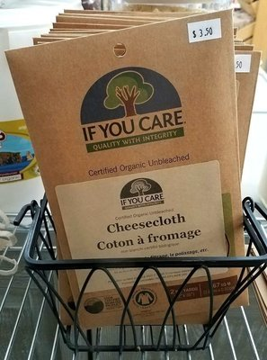 If you care - Coton bio à fromage