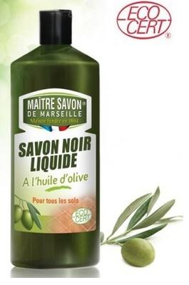 Maitre Savon De Marseille - Savon noir liquide à l'huile d'olive bio 1L
