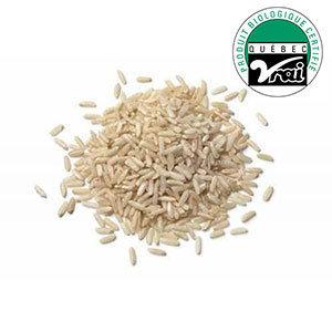 Riz brun court biologique 1Kg Vrac