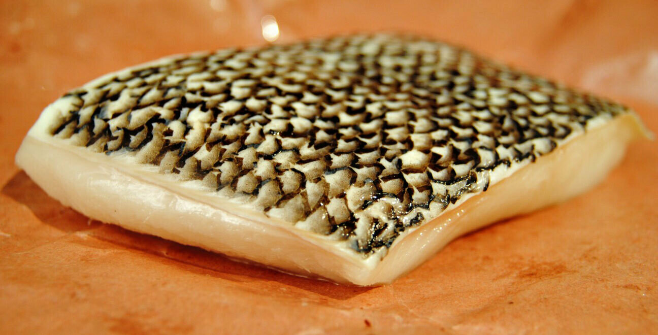 2 Fresh Chilean Seabass/Lubina Portions 1 Lb Each