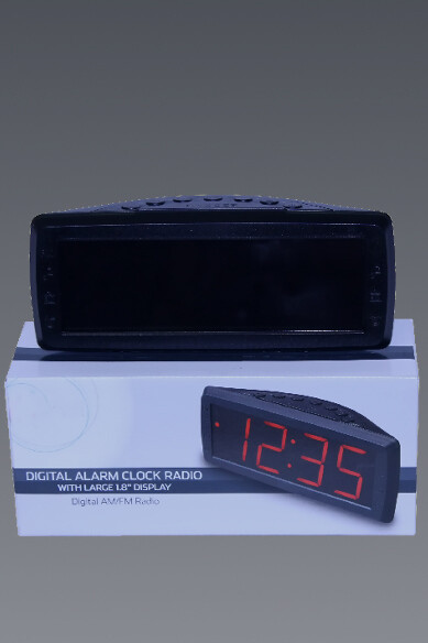 Large Display Clock Radio