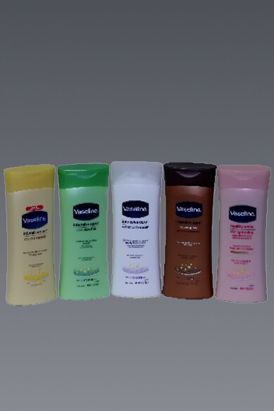 Assorted Vaseline Intensive Care Body Lotions