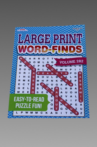 Large Print Word Finds