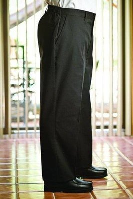 Half Elastic Waist Pants
