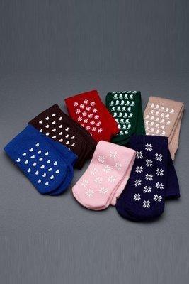 Unisex Slipper Socks – 3 Pack