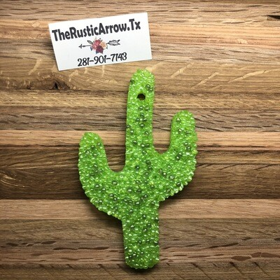 Cactus Large, Car Air Fresher, Car Candle, Air Freshener For Your Car, Freshie, Car Scents