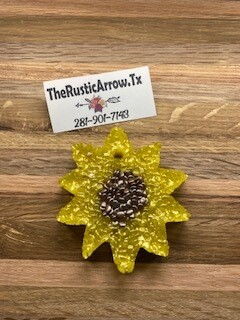 SunFlower, Car Air Fresher, Car Candle, Air Freshener For Your Car, Freshie, Car Scents