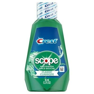 Crest Scope mouthwash 36ml غسول كرست سكوب