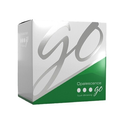 Opalescence Go 15% Mint Pk of 4 قوالب تبيض الأسنان اوبالسينس
