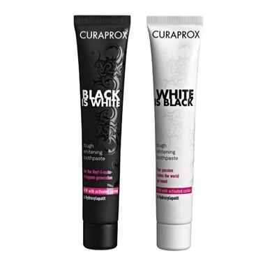 CURAPROX Toothpaste 90ml  معجون تبيض الأسنان بالفحم