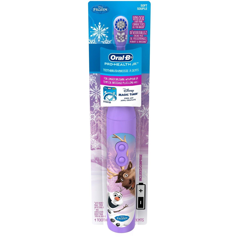 Oral-B Kids 3+ electric battery toothbrush Disney's Frozen فرشاة أسنان الكترونية للأطفال ٣ سنوات و اكثر