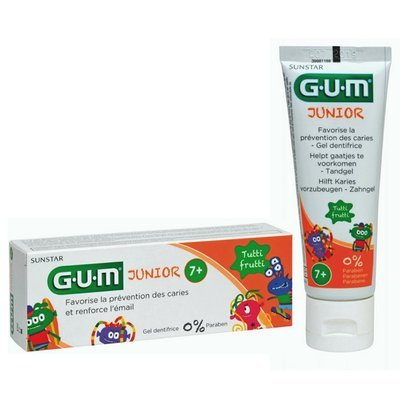 GUM Junior Toothpaste +7 years 50ml  معجون أسنان للصغار من ٧ سنوات واكثر