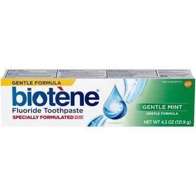 Biotene GENTLE MINT Toothpaste 127ml معجون الأسنان بيوتين لجفاف الفم بالنعناع اللطيف