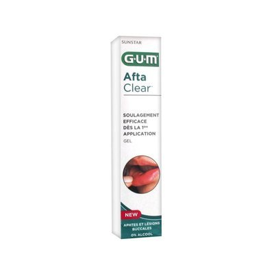 GUM Afta Clear Gel 10ml جل تقرحات الفم