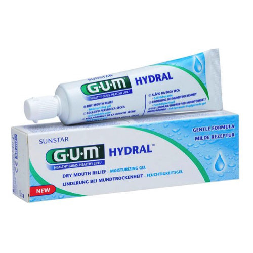 GUM Hydral Moisturizing Gel 50ml جل جفاف الفم