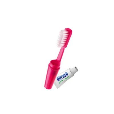Mini ToothBrush and paste فرشاة صغيرة مع معجون