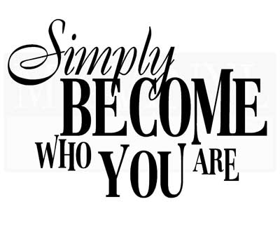 BA002 Simply become who you are