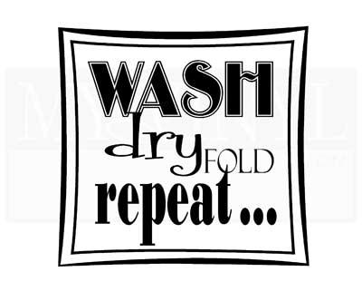 LA003 Wash Dry Fold Repeat
