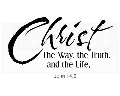 C023 Christ The way, the Truth, and the Life.