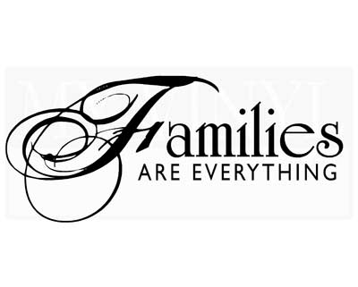 FA014 Families are everything