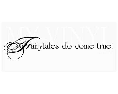 LO007 Fairytales do come true!