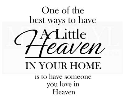 PW005 One of the best way to have a little Heaven in your home