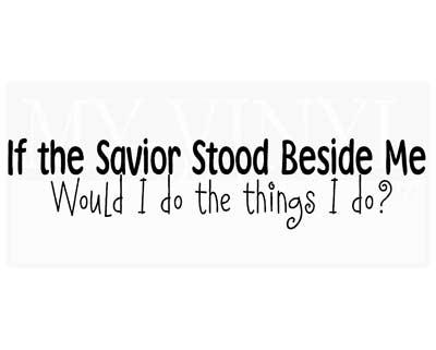 CL022 If the Savior stood beside me