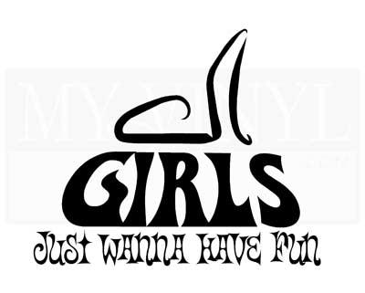 CT041 Girls just wanna have fun.