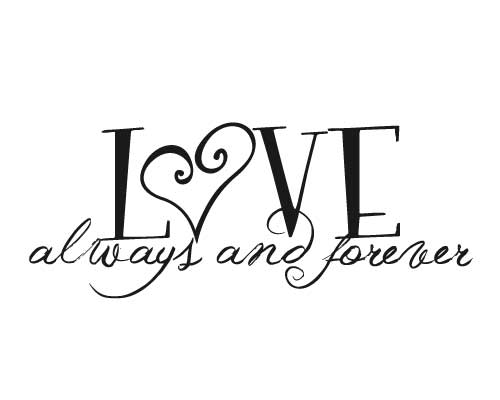 KW131 Love always and forever