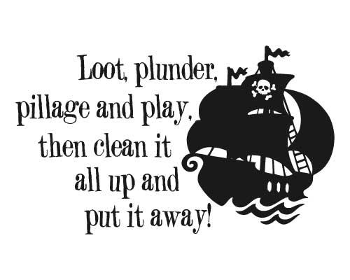 KW152 Loot, plunder, pillage